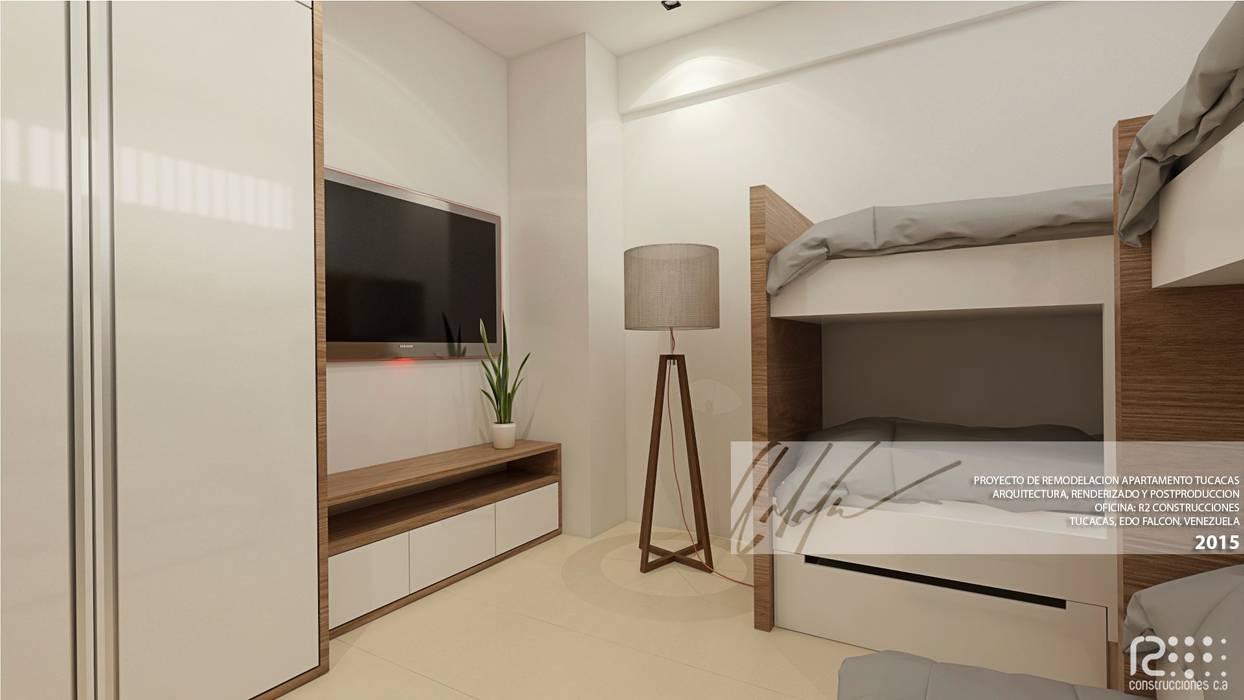Apartamento de Tucacas Cuartos de estilo moderno de Arq.AngelMedina+ Moderno