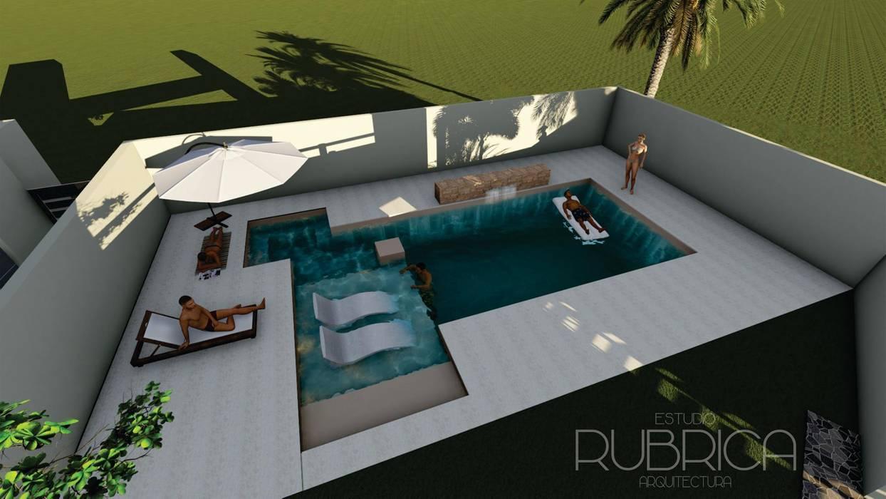 modern  oleh Rubrica Arquitectura, Modern