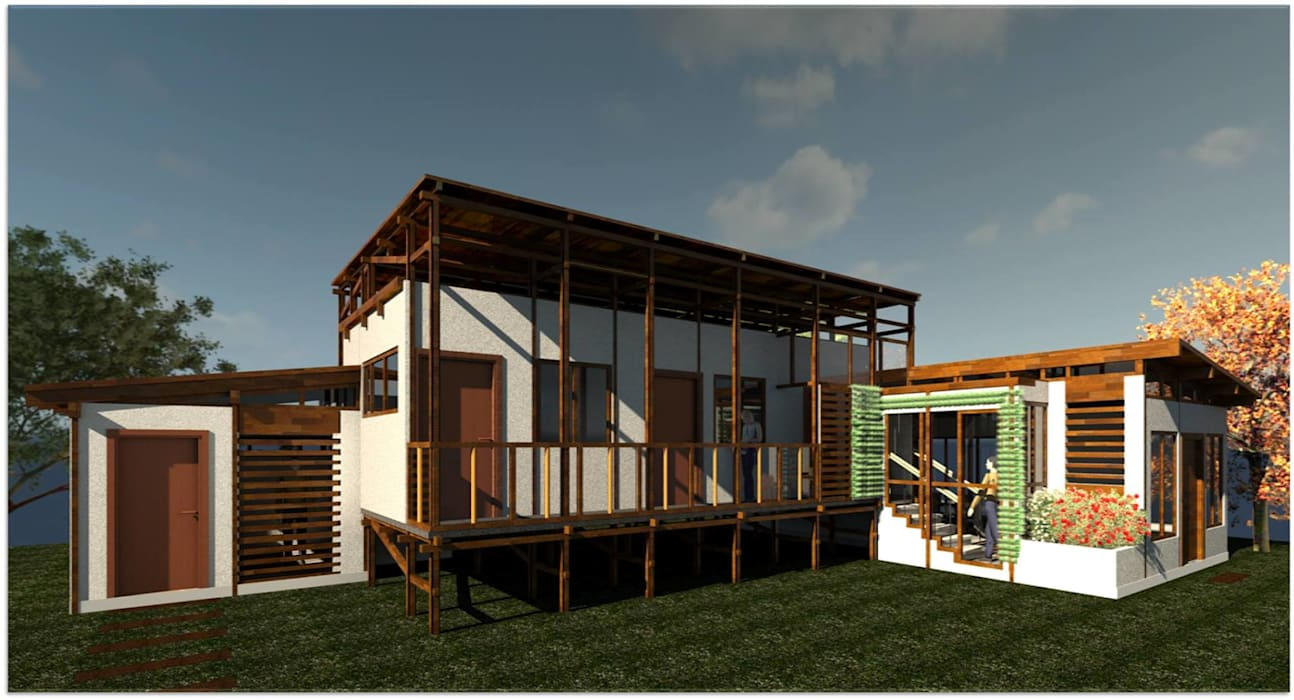 Casas de estilo  por ClamB Arquitectura, Rústico