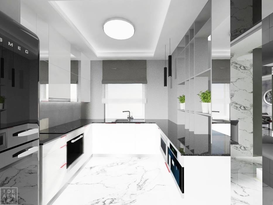 Modern style kitchen by IDEALNIE Pracownia Projektowa Modern