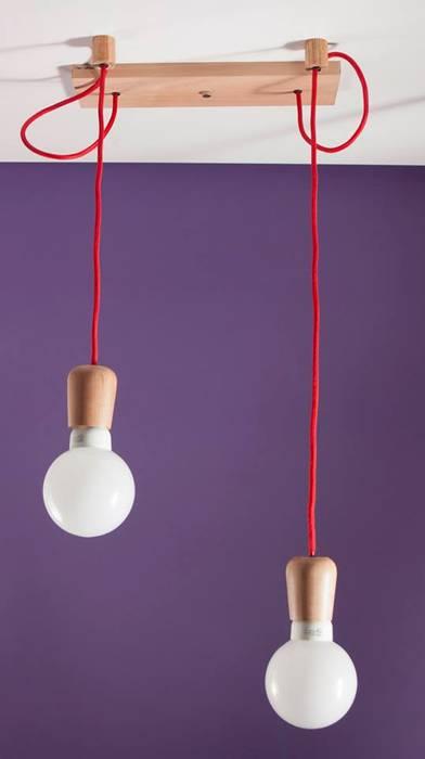 Colgantes Gota:  de estilo industrial por One Lighting,Industrial