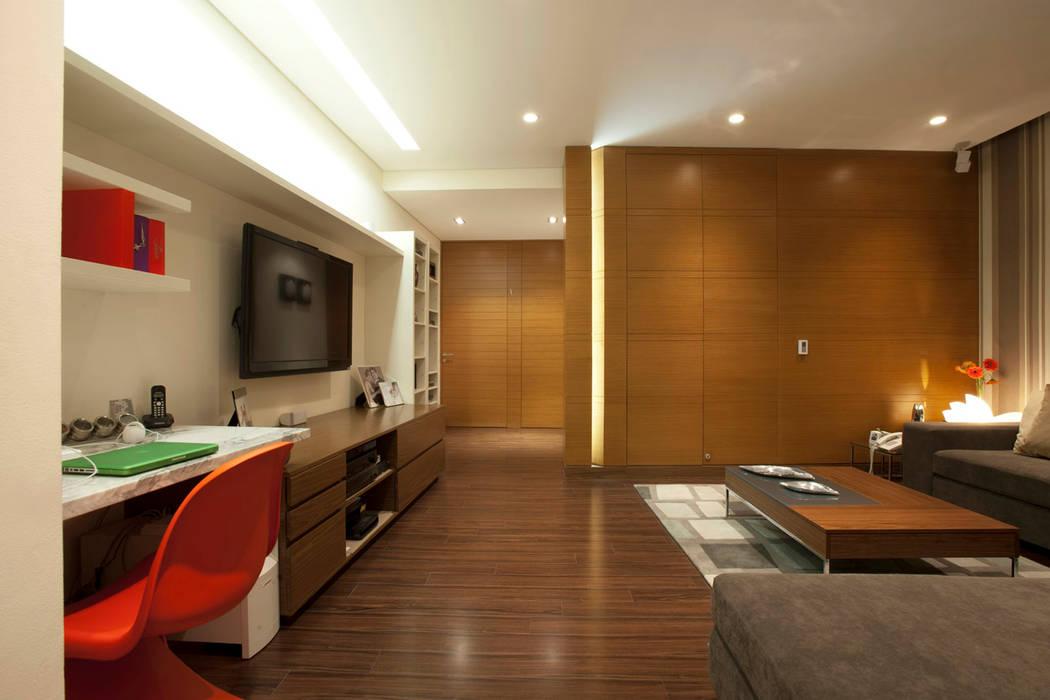Armoni Salas multimedia modernas de ARCO Arquitectura Contemporánea Moderno