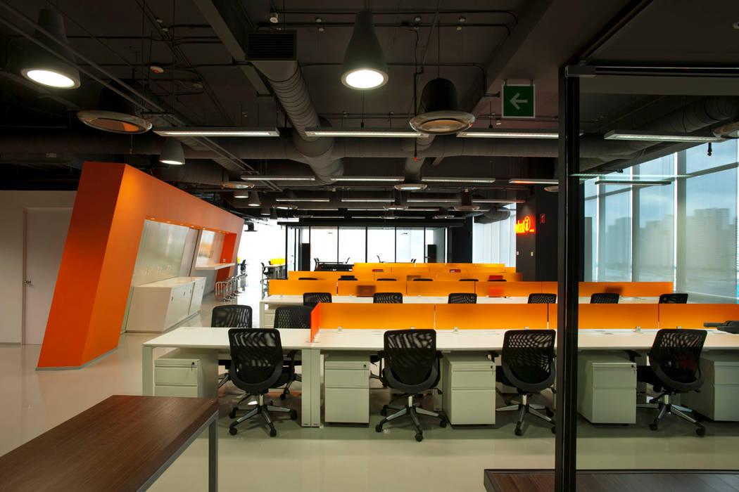 Bureau moderne par ARCO Arquitectura Contemporánea Moderne