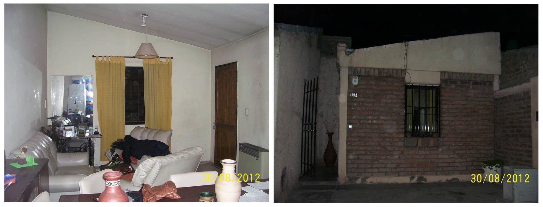 Ubicación de la puerta antiguamente de Mora Arquitectura y Diseño Moderno