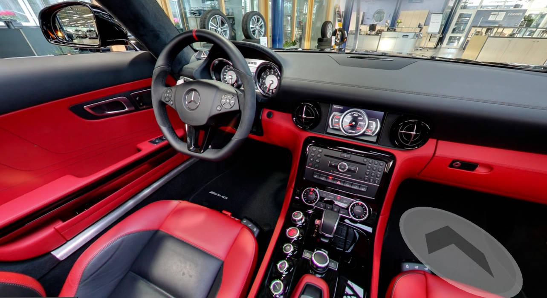 Lüske Mercedes 360° tour autohaus mercedes paul lüske, cloppenburg: ladenflächen