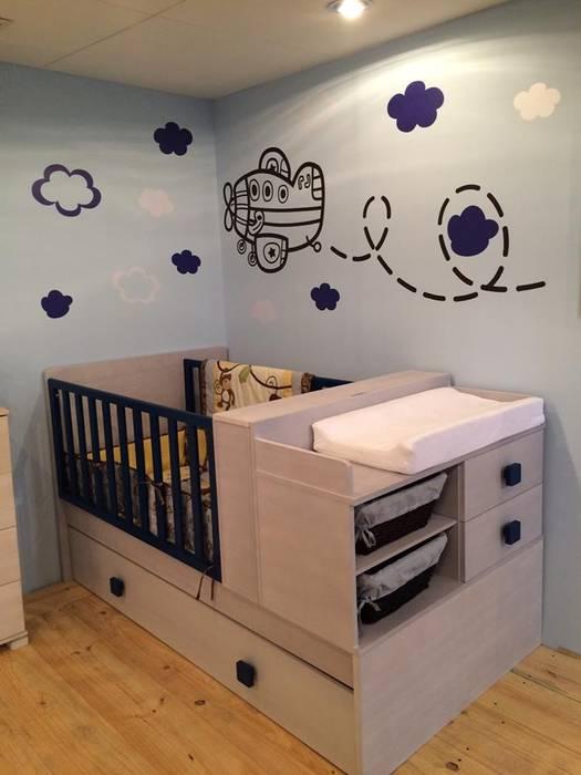 Dormitorios para niños: Cuartos infantiles de estilo  por crescere,