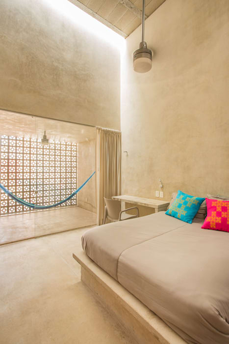 Kamar Tidur Modern Oleh TACO Taller de Arquitectura Contextual Modern