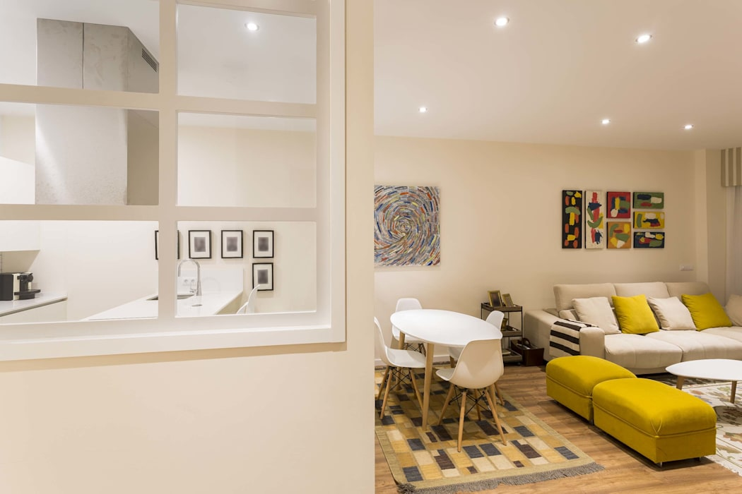 GESTION INTEGRAL DE PROYECTOS DEL NOROESTE S.L. Modern living room