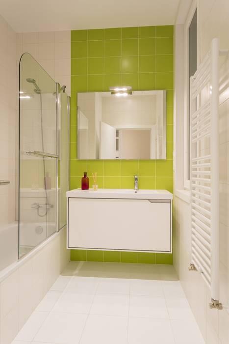 GESTION INTEGRAL DE PROYECTOS DEL NOROESTE S.L. Modern bathroom