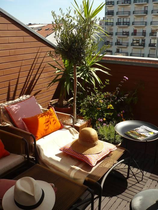 Kohde Balcone, Veranda & Terrazza in stile moderno