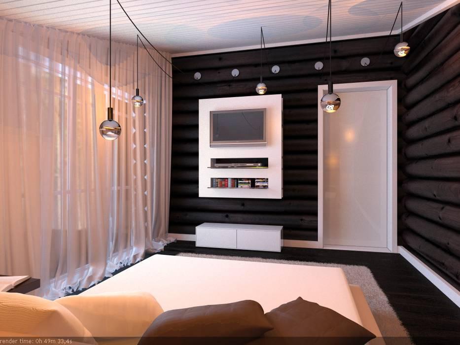 A-partmentdesign studio Scandinavian style walls & floors Wood Brown