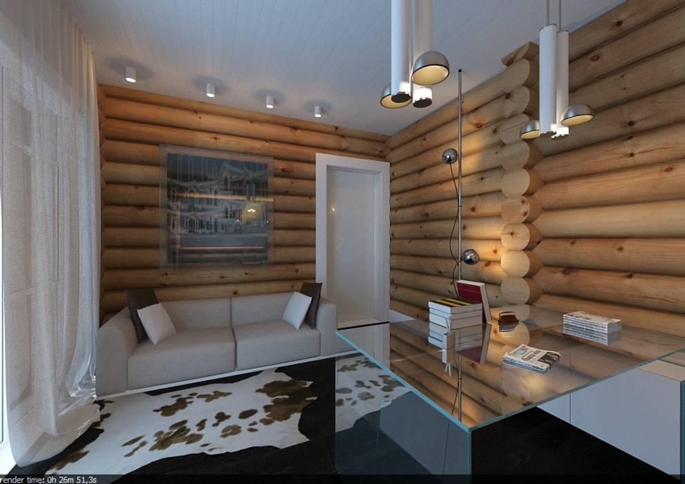 A-partmentdesign studio Scandinavian style walls & floors Wood Wood effect