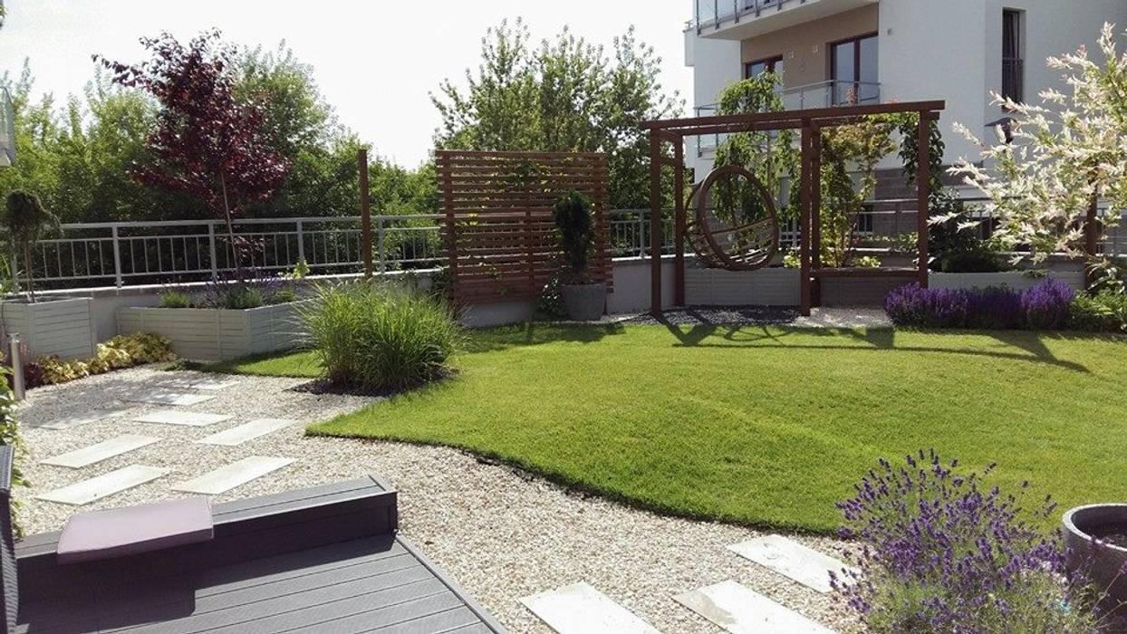 projektowanie ogrodow Śródziemnomorski balkon, taras i weranda od Ogrodowa Sceneria Śródziemnomorski