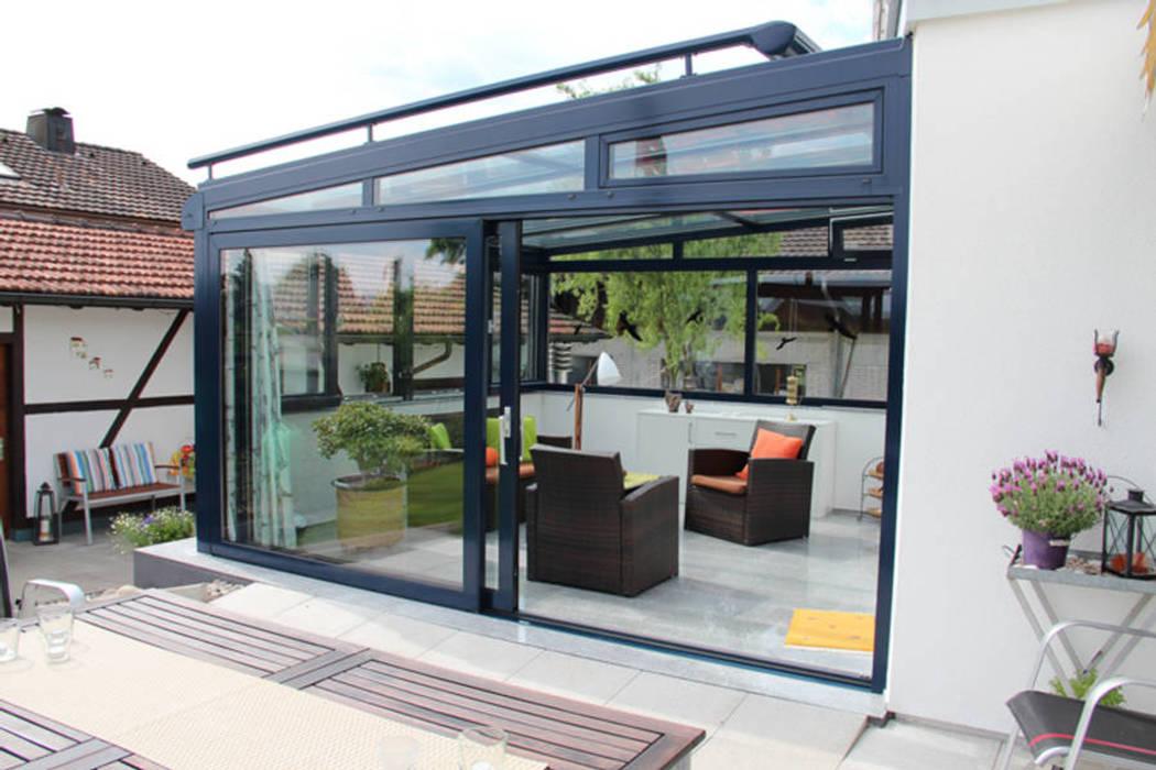 Modern style conservatory by Eco Wintergärten Modern