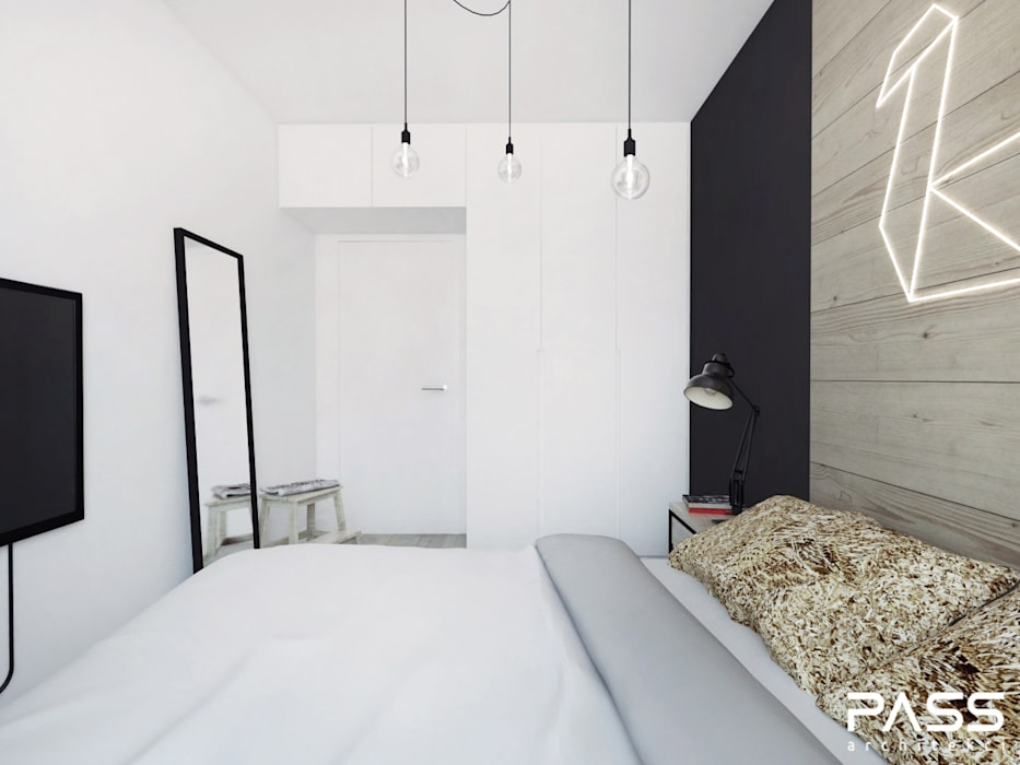 PASS architekci ห้องนอน