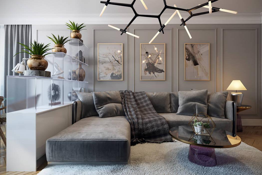 Ruang Keluarga Gaya Eklektik Oleh homify Eklektik Kayu Wood effect