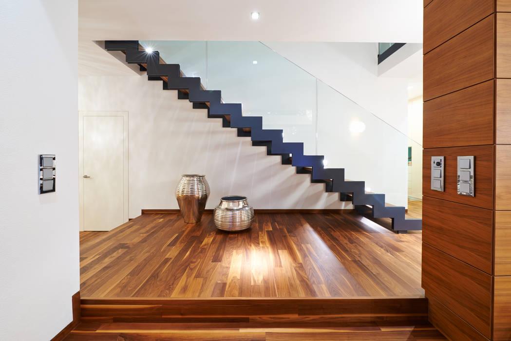 Modern Koridor, Hol & Merdivenler ZHAC / Zweering Helmus Architektur+Consulting Modern Demir/Çelik