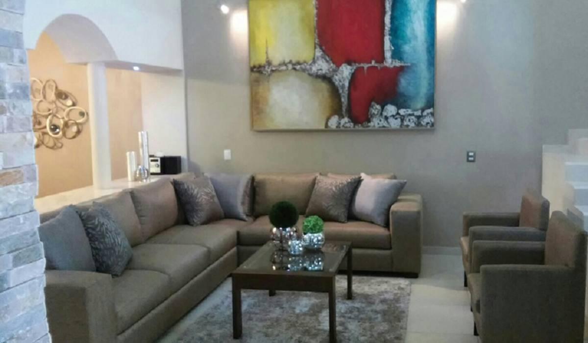 modern  by DONATELLO Interiores, Modern Flax/Linen Pink