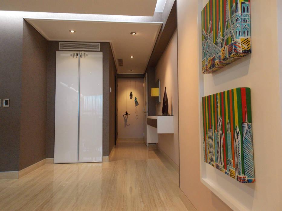 Apartamento 533: Salas / recibidores de estilo  por TRIBU ESTUDIO CREATIVO, Moderno