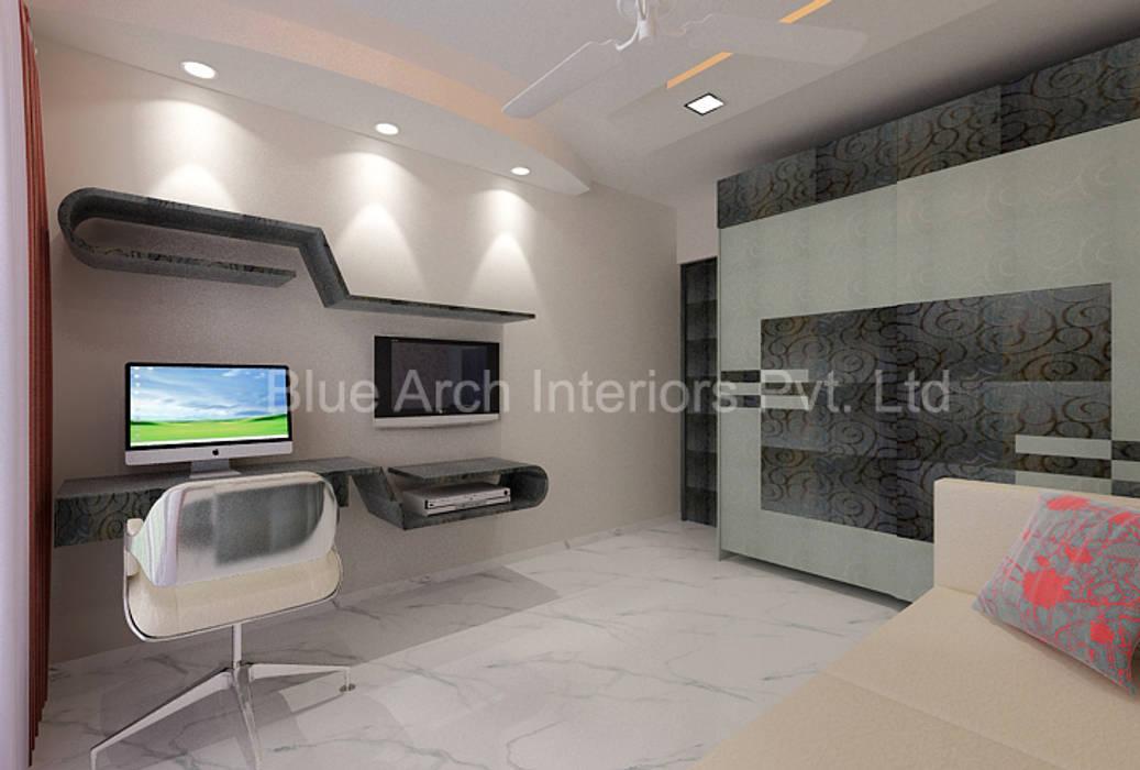 di Bluearch Architects & Interiors Moderno Vetro