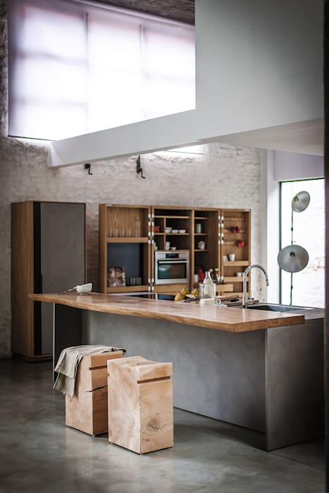 La Cucina design Matteo Thun: Cucina in stile in stile Moderno di Riva1920