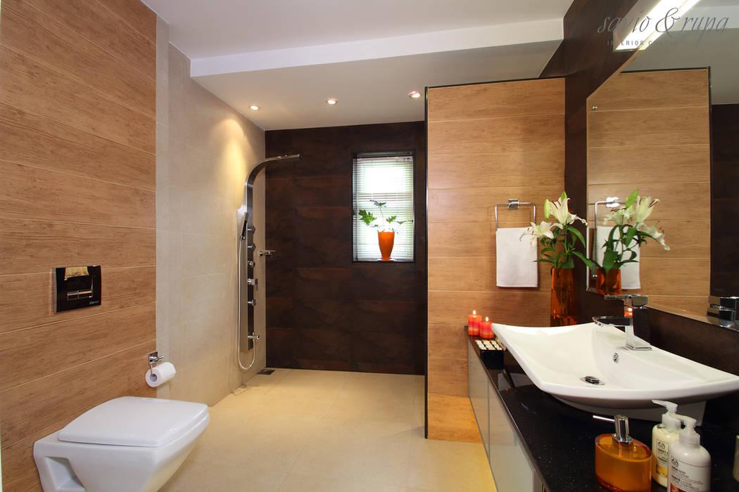 Kid's bathroom:  Bathroom by Savio and Rupa Interior Concepts