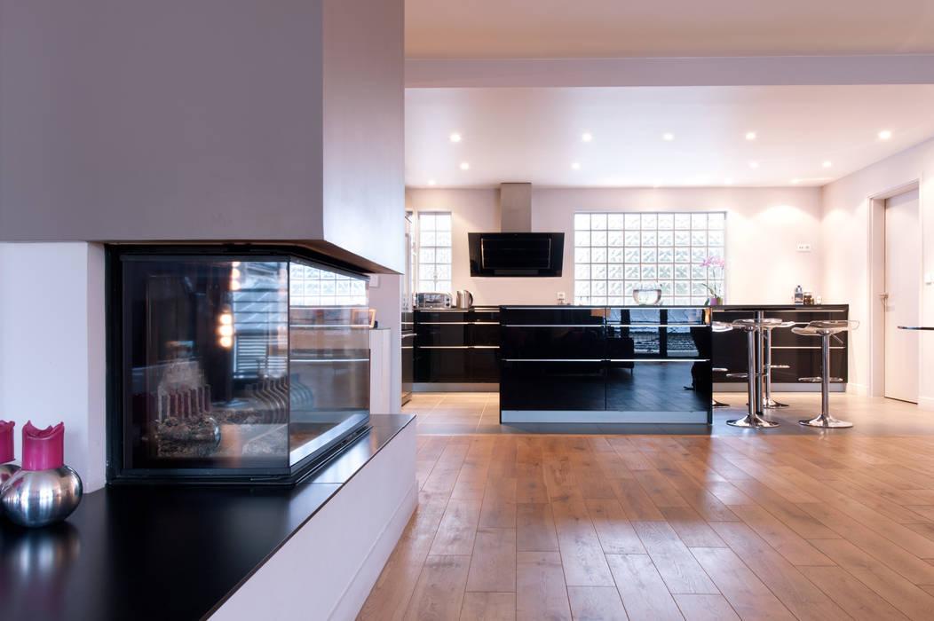 Cuisine Ouverte: Cuisine de style de style Moderne par MA CUSINE MON COACH