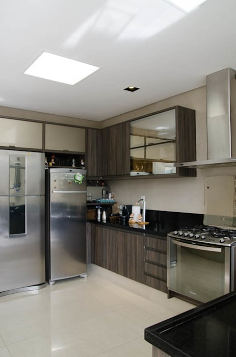 Residência SSC Cozinhas modernas por A/ZERO Arquitetura Moderno