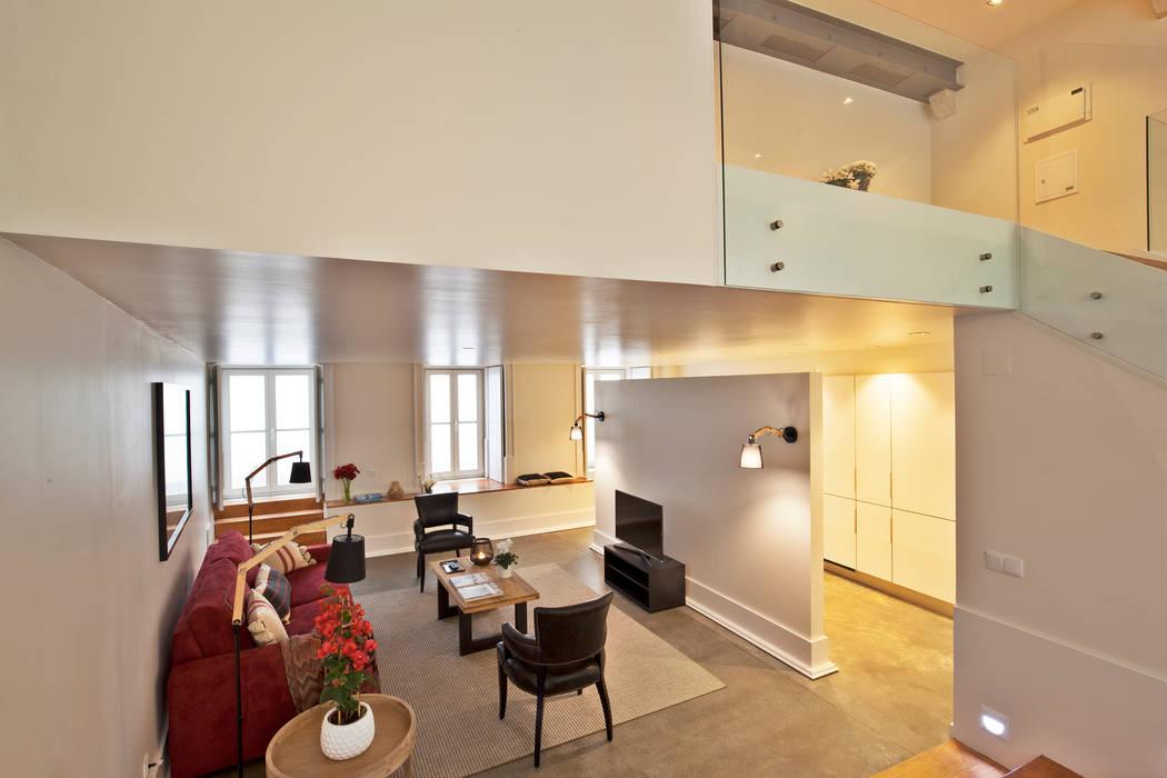 de estilo industrial por Pureza Magalhães, Arquitectura e Design de Interiores, Industrial