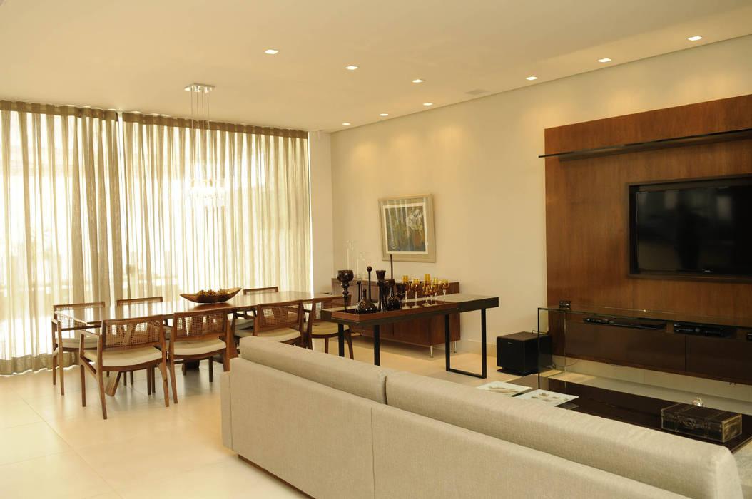A/ZERO Arquitetura Modern living room