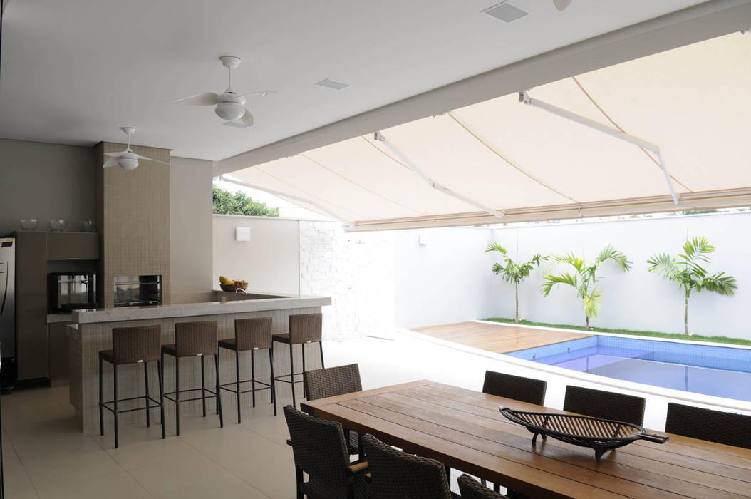ระเบียง, นอกชาน โดย A/ZERO Arquitetura, โมเดิร์น