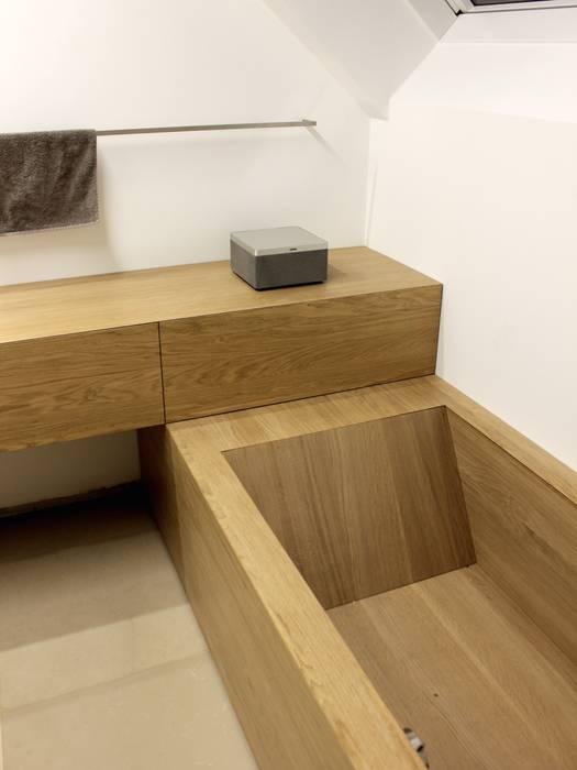 Bad Badewanne Eiche Moderne Badezimmer Von Schreinerei