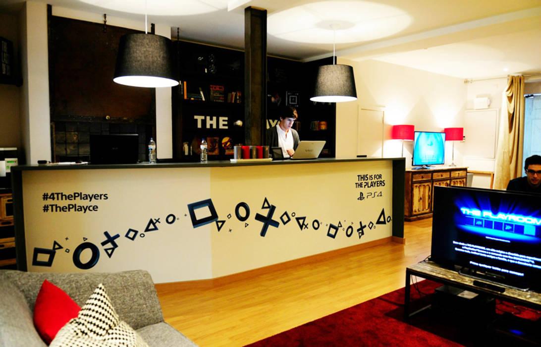 1ª Sala de jogo Locais de eventos modernos por maria inês home style Moderno