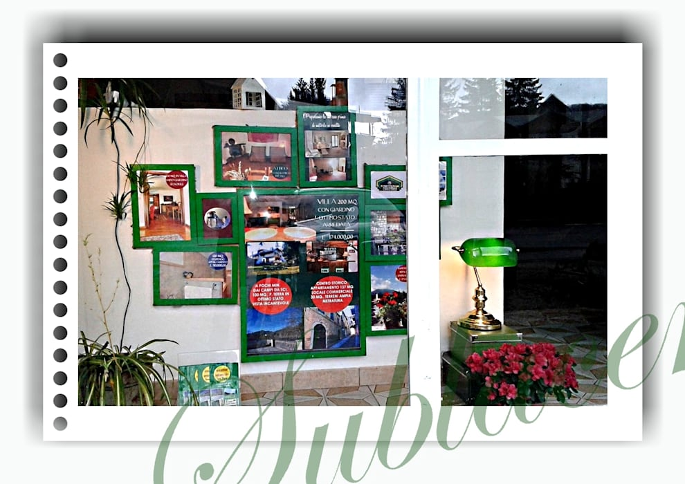 immobiliare sublacense Offices & stores Green