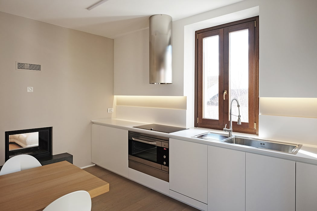 廚房 by Luca Mancini | Architetto, 現代風