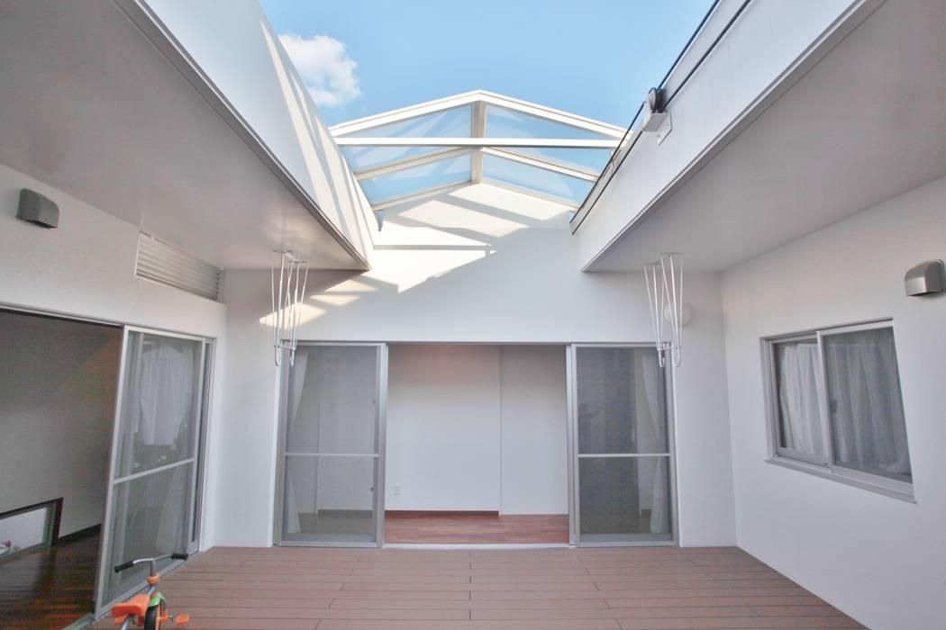 โดย (株)スペースデザイン設計(一級建築士事務所) โมเดิร์น ไม้ Wood effect