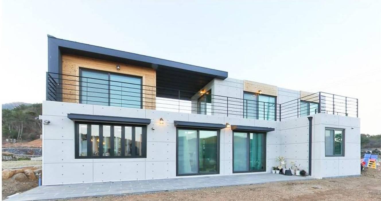 Rumah Modern Oleh 한글주택(주) Modern