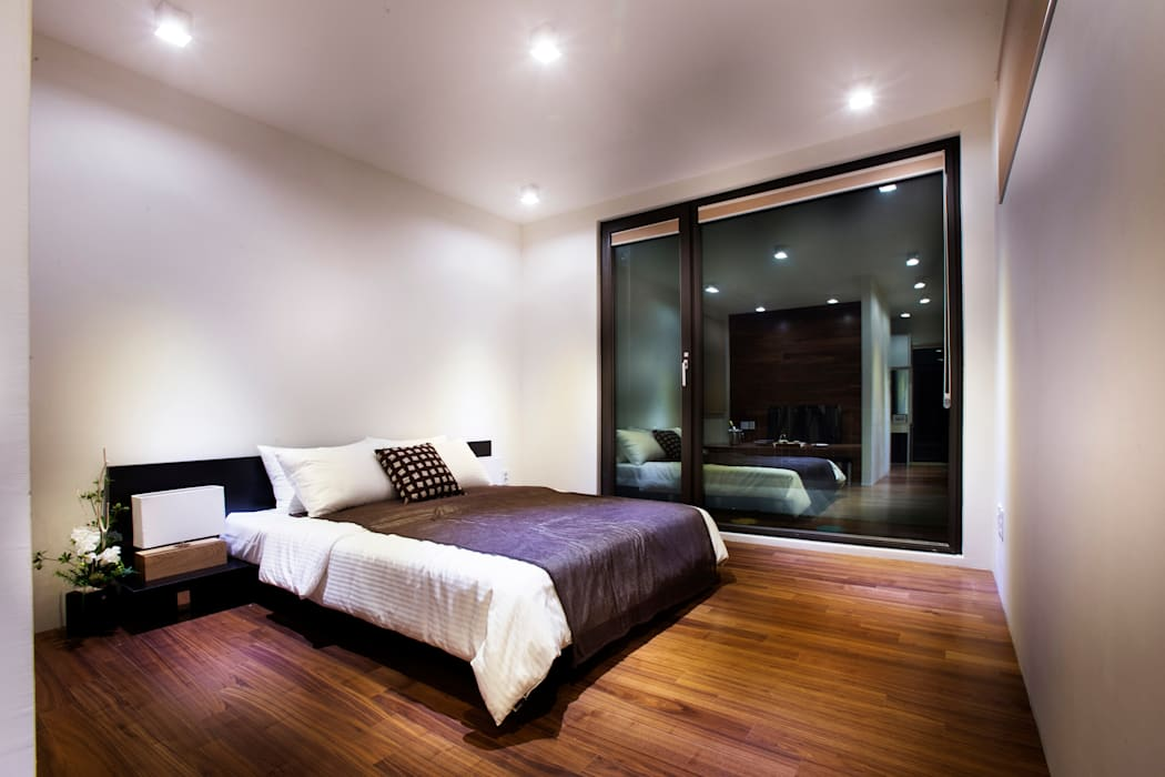 김병만 한글주택 모던스타일 침실 by 한글주택(주) 모던