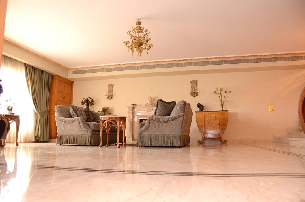 Salon de style par tania mariani architecture & interiors ...