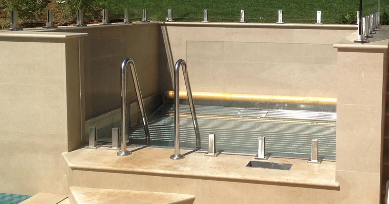 Stainless Steel Spa:  Spa by Aqua Platinum Projects, Classic