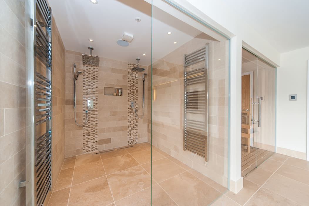 Shower :  Spa by Aqua Platinum Projects