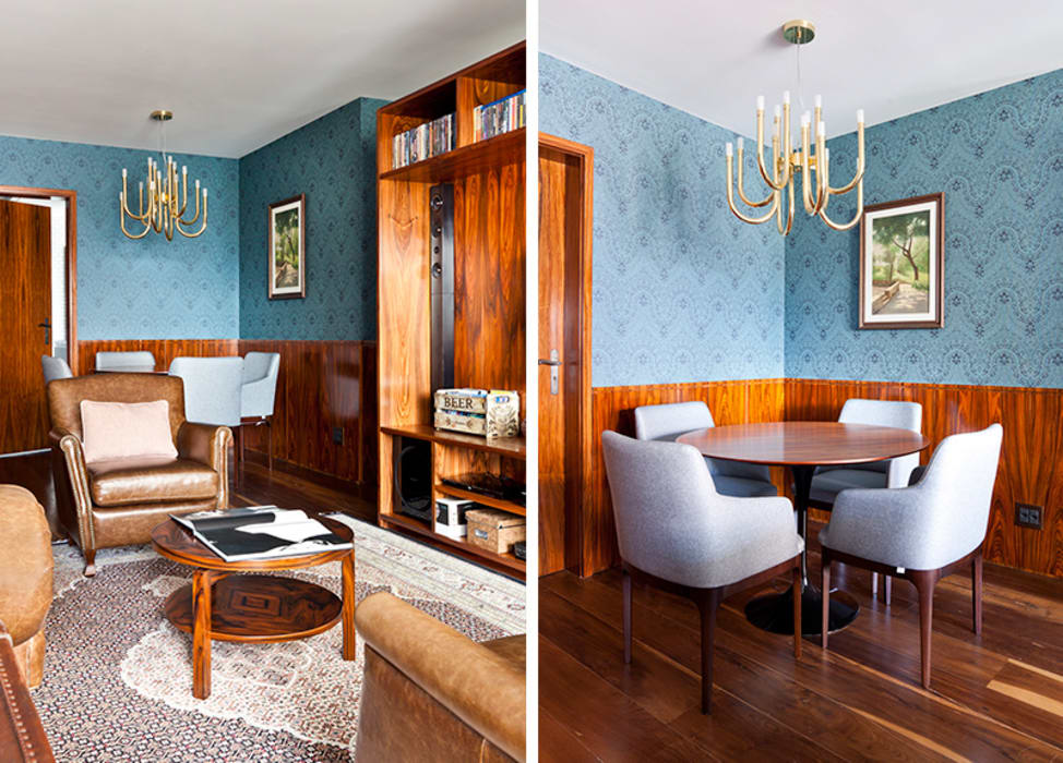Sala INÁ Arquitetura Salas de jantar clássicas