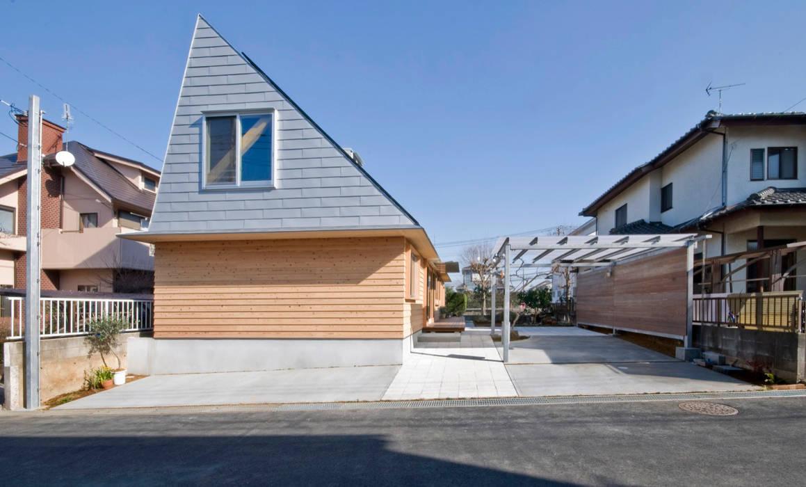 Rumah Gaya Eklektik Oleh 千田建築設計 Eklektik Kayu Wood effect