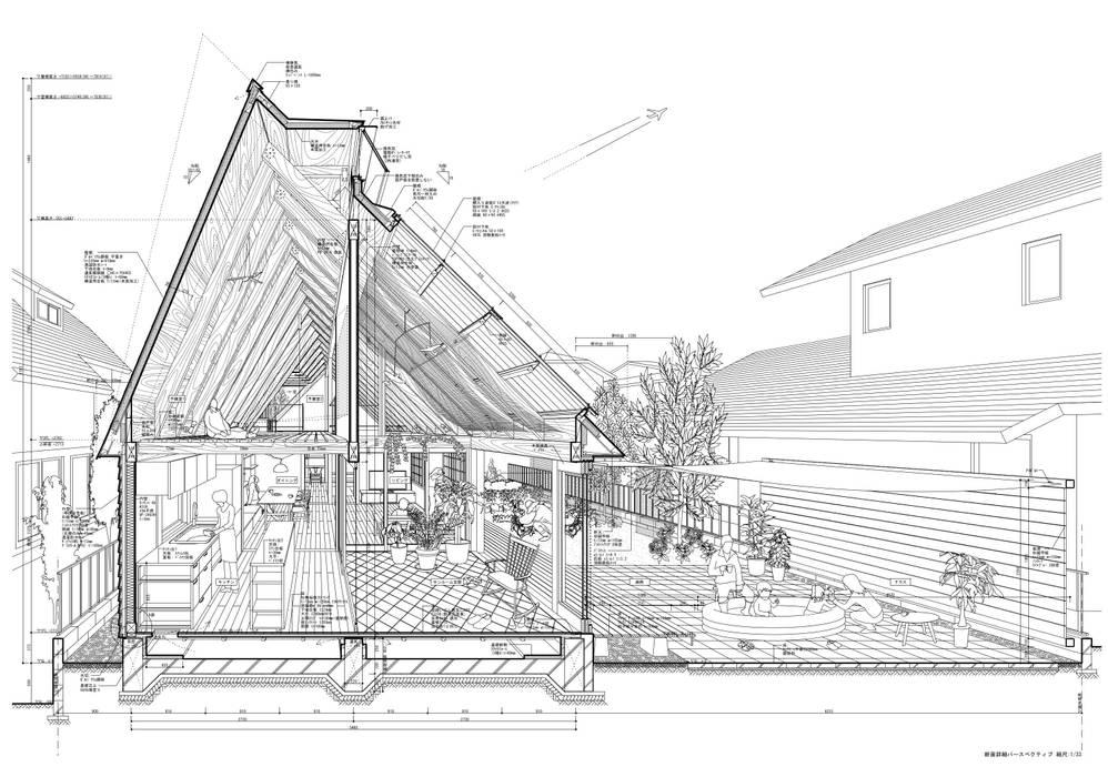 Rumah Gaya Eklektik Oleh 千田建築設計 Eklektik