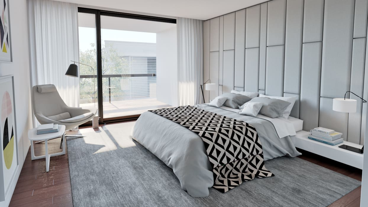 Dormitorios de estilo moderno de MyWay design Moderno