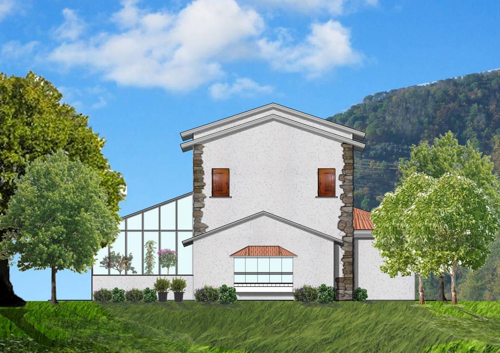 Progetto: Case in stile In stile Country di Architetto Termografo Denise Vola