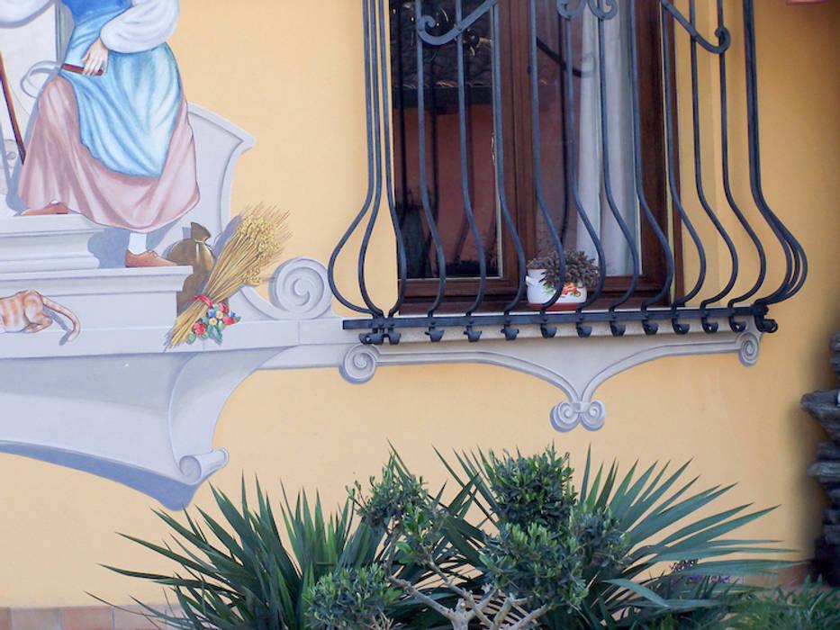 Dipinti murali esterni dino molinari tinteggiatura pittura murale per interni ed esterni - Dipinti murali per interni ...