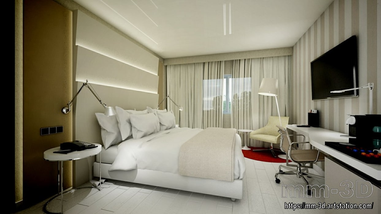 Hotels by mm-3d,
