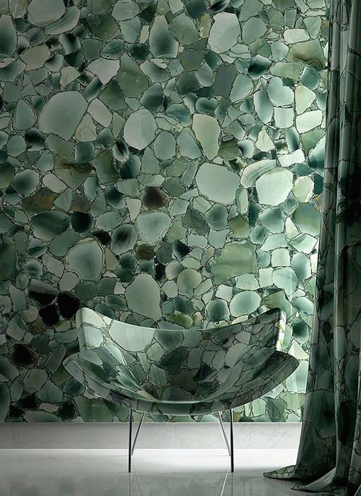 Salle de bains de style  par ShellShock Designs, Asiatique Pierre