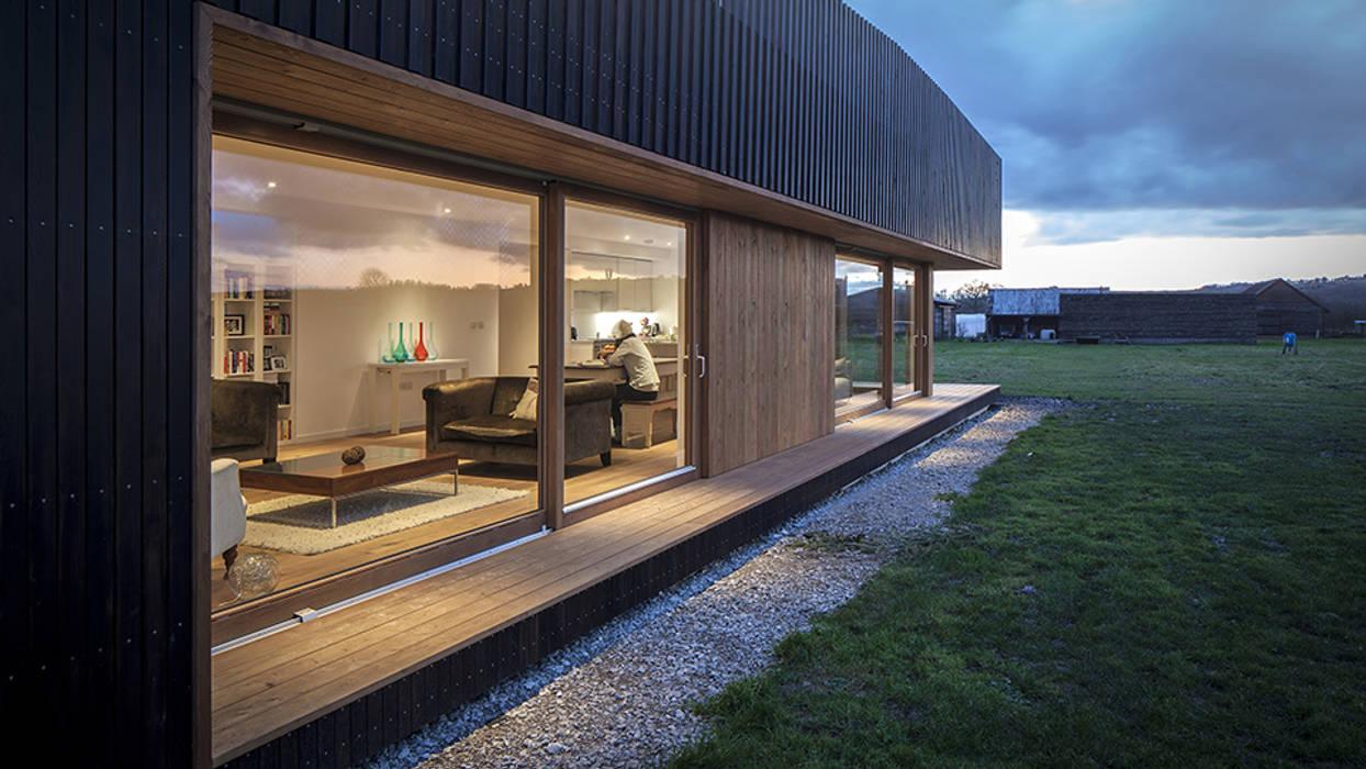 Casas de estilo  por ecospace españa, Moderno Madera Acabado en madera